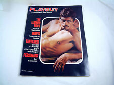 Vintage Playguy The Magazine of Male EROTICA Gay Interest Vol. 1 Number 1