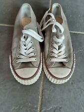 PF Flyers Grey Trainers Size UK 7