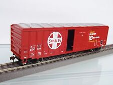 Athearn 29234-h0 US Voiture RTR 50' ACF Box, Santa Fe #15668 - NEUF dans neuf dans sa boîte