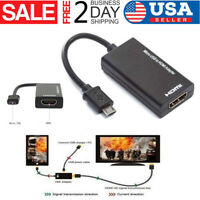 MHL Male Micro USB to HDMI Female Adapter Cable For Tablet TV Android Smartphone
