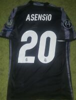 Marco ASENSIO match un worn & signed PROOF shirt Real Madrid Ronaldo Spain Isco
