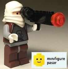 sw149 Lego Star Wars 6209: Slave I - Dengar Minifigure w Blaster - New