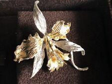 Brosche Anstecknadel Jugendstil Silber 925 antik