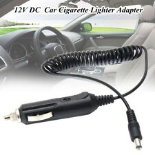 12V 5.5x2.1mm Car Charger Power Adapter Cigarette Lighter Male Socket Plug Cable