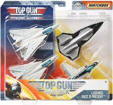 Matchbox Sky Busters Top Gun 4-pack Maverick Iceman Darkstar