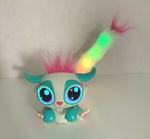 Lil Gleemerz Amiglow Interactive Pet (Teal & Pink) - Talks and Lights Up