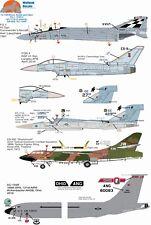 Wolfpak Decals 72-109 Blood sweat & Valor Phantom Typhoon Douglas eurofighter