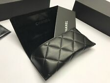 Chanel Sunglasses Gift Box And Sunglasses Black Leather Case With Cloth