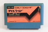 Devil World Nintendo FC Famicom NES Japan Import US Seller F2325