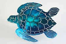 Turtle trailer hitch cover blue