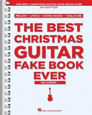 The Best Christmas Guitar Fake Book Ever 3rd Edition Sheet Music NEW 000240053