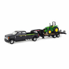 Tomy 1:32 Scale Ford F-350 Truck w/ Trailer & John Deere 5075E Tractor