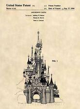 Official Cinderella Castle Patent Art Print - Walt Disney - Disneyland - 113