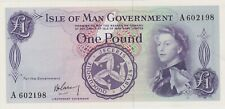 More details for p25a isle of man one pound banknote in mint condition issued in 1961 signature 1