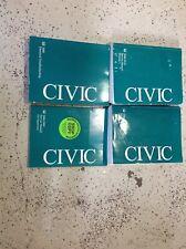 2006 2007 2008 2009 2010 Honda Civic Service Shop Manual Set W ETM + Supplement