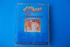 FESTIVALBAR 1994 MUSICASSETTA DOPPIA EMI NUOVA SIGILLATA