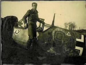 Jagdflieger Erich Rudorffer Luftwaffe Zweiter Weltkrieg Wandbild
