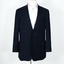 Gianluca Isaia Super 150s Navy Blue Jacket w/ Working Cuffs 42 L