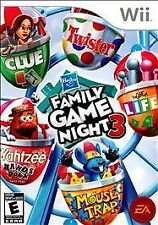 NINTENDO Wii - HASBRO FAMILY GAME NIGHT 3 - GREAT GAME FOR ADULTS & KIDS