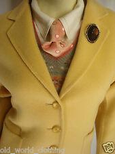 Vintage Yellow 100% Merino Wool Cardigan Jacket Blazer Coat by PENDELTON Size M