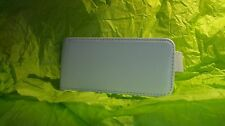 White genuine leather cover case for apple new iPhone 5gs