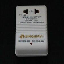70W AC Travel Power Converter 240V To 110V or 110V to 240V DT293