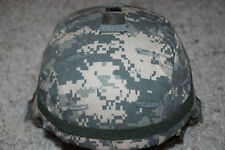 NEW ORIGINAL US ARMY MSA ACH MICH COMBAT HEL MET WITH ACU COVER - LARGE