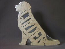Golden Retriever Dog Wooden Amish Made Toy Puzzle NEW!!