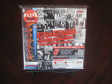 ROLLING STONES SINGLES COLLECTION JAPAN REPLICA RARE OBI CD BOX Set W/ STICKERS