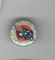 1910s pin WWI HOMEFRONT pinback UNION JACK Flag For Our Fighting Men