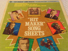 Hit Maker Song Sheets 1965 Beatles  Songbook