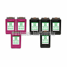 7 PACK HP 60XL ink cartridge for PhotoSmart C4600 C4635 C4685 C4780 C4700 C4740