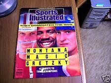 Sports Illustrated 1989 Montana/Johnson/Gretzky Cover