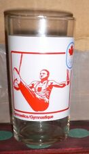 1976 OLYMPIC GAMES MONTREAL Canadian Olympic Sport Glass Gymnastics & Canoeing