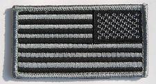 Us American Flag Military Uniform Black Patch-32624