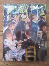 CATALOGUE VENTE AUX ENCHERES SOTHEBY'S PREVIEW AVRIL MAI 1990