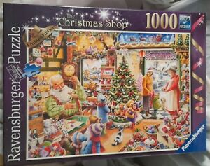 Ravensburger The Christmas Shop 1000 Piece Jigsaw Limited Edition new sealed