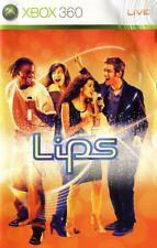 Lips Karaoke Game for Microsoft Xbox 360