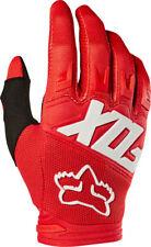 Fox Racing Dirtpaw Race Men's Full Finger Glove: Red 2XL