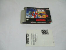 SUPER EMPIRE STRIKES BACK Super Nintendo Authentic Box & Insert NO GAME CART!