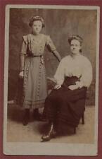 2 Ladies costume fashion  vintage photograph postcard   zh.272