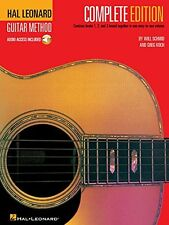 Hal Leonard Guitar Method, Complete Edition: Books 1, 2 and 3, New, Free Shippin