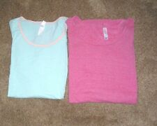 LuLaRoe Tops LOT (2) Super Soft with Rayon Blend Washed and Worn Look 3XL