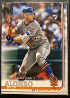 2019 Topps Update #US198 Pete Alonso RC New York Mets Rookie Debut Update