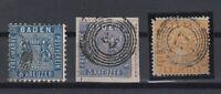 X2286/ GERMANY - BADEN – MI # 10 / 11 USED – CV 180 $