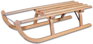 Ress Schlitten Rodel Davoser Holzschlitten direkt vom Hersteller Modell 2021 NEU
