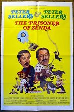 """""""THE PRISONER OF ZENDA"""" Peter Sellers & Peter Sellers in zany comedy - poster"""