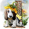 5D DIY Diamond Painting Full Drill Dog Cross stitch Kits Embroidery home decor