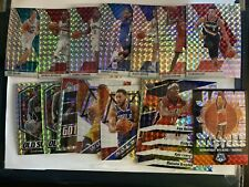 2019-20 Mosaic Basketball Base Reactive Orange Silver Prizms  Green Holo PICK