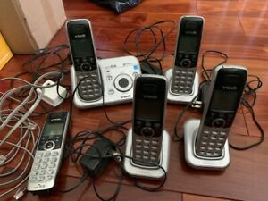 VtechVtech CS6729-5 Cordless DECT 6.0 Answering system Base W/5 Handsets + Calle